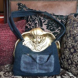 ❤PRADA PERSIAN LAMB FUR/WOOL BAG